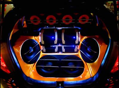 Музыкальная система авто